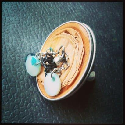 Nespresso capsules ring