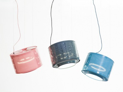 Drum lamp by Willem Heeffer