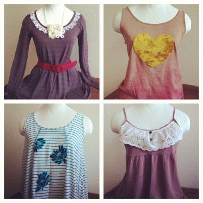 Upcycled Clothing, Art and Hair Accessories