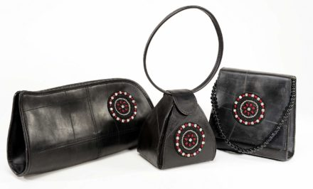Ladies Night Recycled Inner Tubes Bags