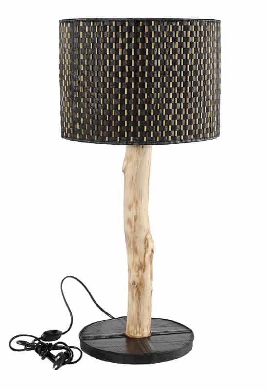 Bamboo and Inner Tube Lamps & Lights Recycled Furniture