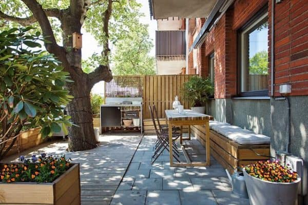 Appartment with pallet decoration in pallets 2 architecture  with pallet home decor