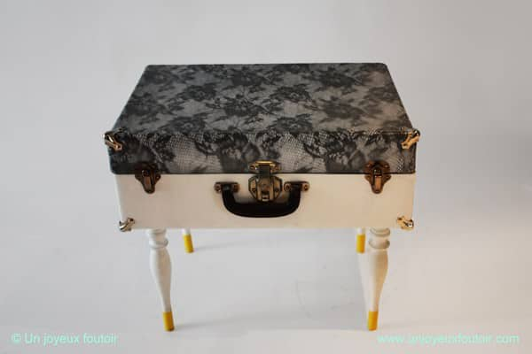 Vintage Suitcases Into Tables Recycled Furniture