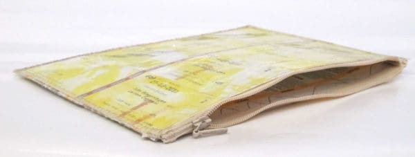 Dutch traintickets recycled into pencil case Accessories