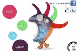 Mostri Mostrissimi© – Monsterest Monsters made of textile scrap