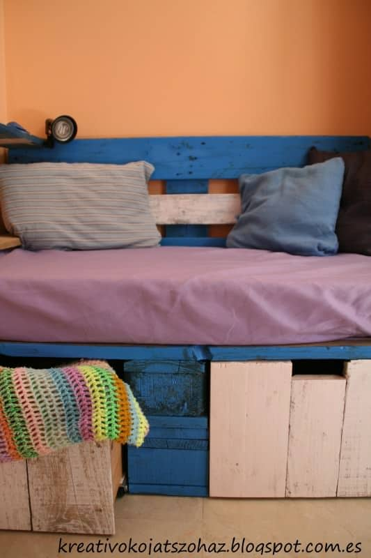 Pallet Sofa For Kids Recycled Pallets