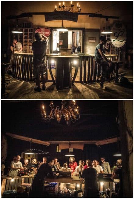 Ephemeral Wine Barrels Bar