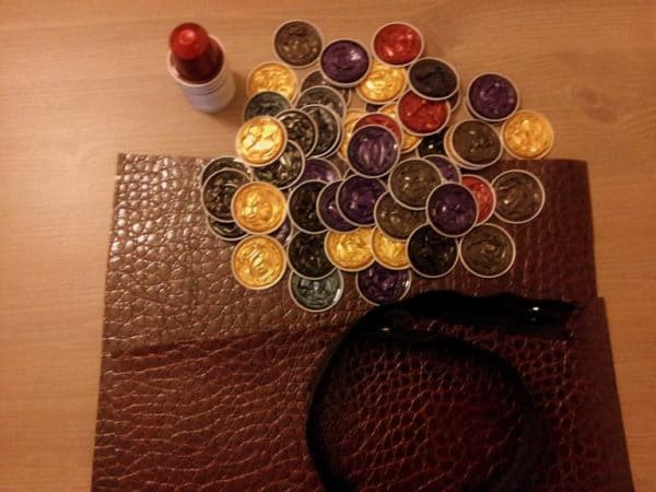 Recycled Idea: Nespresso Capsules Clutch Accessories Recycled Packaging