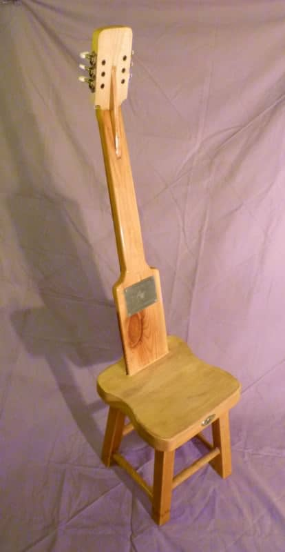 The SeatGuitar in furniture  with Seat guitar