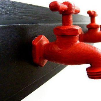 Water Sprout Into Coat Rack