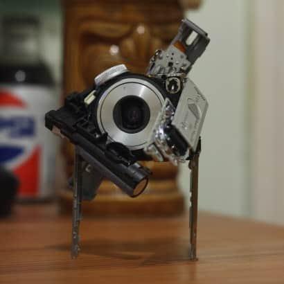 Cambots: Robots from camera parts