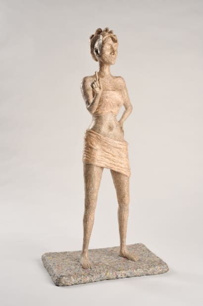 Unah: Papier mache sculpture