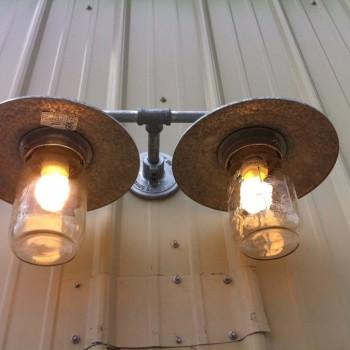 Mason jar light globe