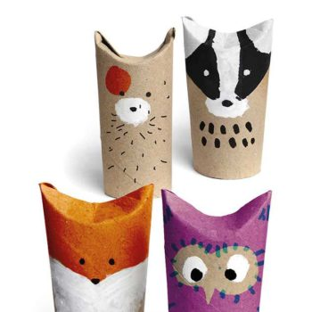 Easy Crafts With Upcycled Toilet Paper Rolls