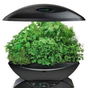 AeroGarden-Classic-7-Pod-with-Gourmet-Herb-Seed-Kit-Black-0