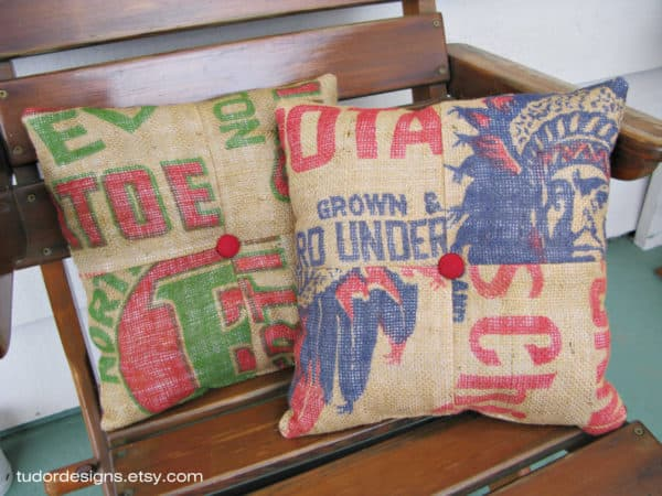Upcycled Burlap Sacks Clothing Do-It-Yourself Ideas