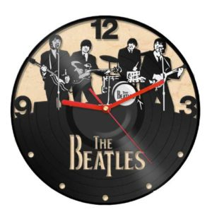 Clock-Vinyl-Record-Recycled-Wall-Home-Living-Room-Decor-The-Beatles-Band-0