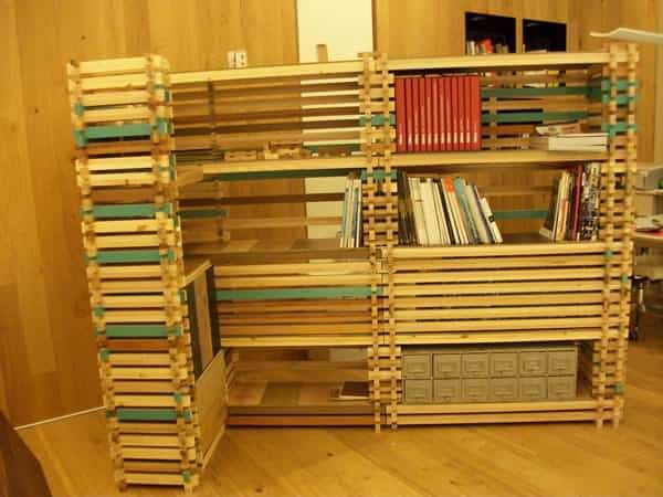 Refurnish atelier in furniture  with Wood Recycled Furniture