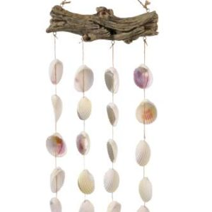 Grasslands-Road-Driftwood-Shell-Wind-Chime-20-Inch-Set-of-2-0