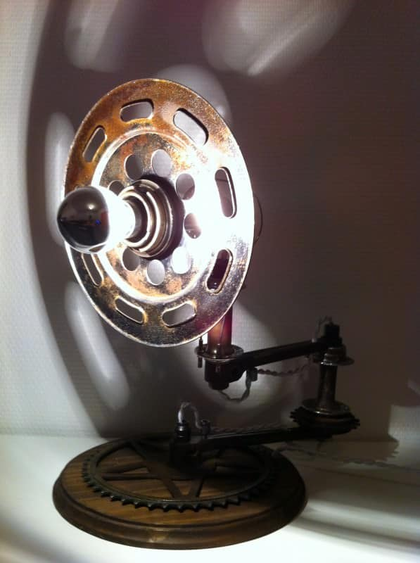 Chainwheel lamps in lights  with Lamp
