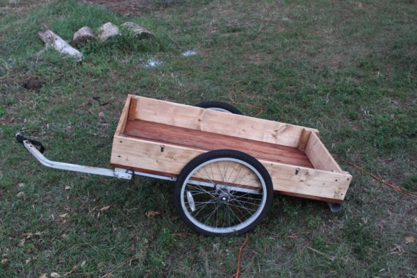 Bike Cargo Carrier in diy bike friends  with Recycled cart Bike