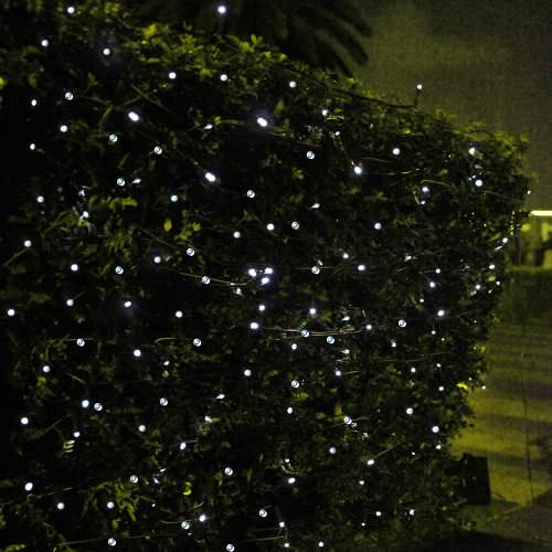 Innoo Tech 55ft - 100 LED white Solar Fairy String Lights Recyclart Shop