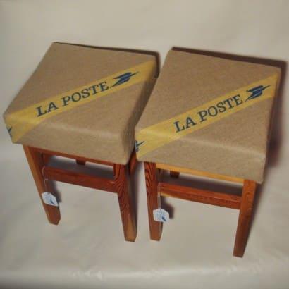 """""""La Poste"""" stools"""