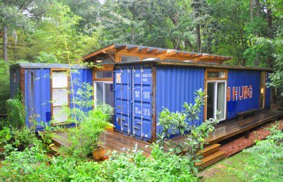 Container modern house in Savannah