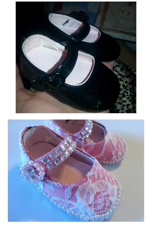 Upcycled shoes Accessories Do-It-Yourself Ideas