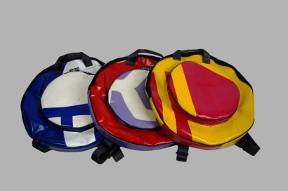Eco drum cymbals bag made with recycled material