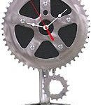Recycled-Bicycle-Parts-Desk-Pendulum-Clock-0