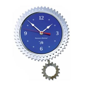 Resource-Revival-Recycled-Bicycle-Parts-Double-Sprocket-Wall-Clock-0