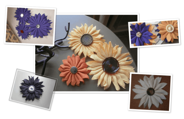 Upcycled T Shirts Flowers in diy  with Upcycled T shirt Flowers Accessories