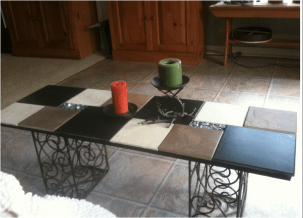 Tiles Coffee Table Recycled Furniture