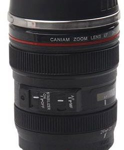 Thermo-Lens-Mug-Stainless-Steel-Insulated-For-Coffee-and-Refreshments-Modeling-24-70mm-F2.8G-Lens-16oz-0