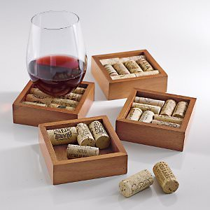 Wine-Enthusiast-Wine-Cork-Coasters-Kit-Set-of-4-0