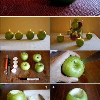 DIY: Easy Apple Centerpiece