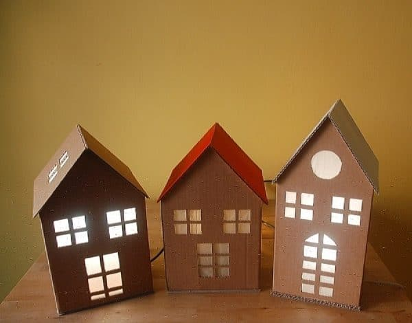New Creations by Ecocentriche Ecodesign Recycled Cardboard