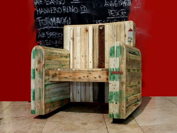 Pallet Kingchair Recycled Furniture Recycled Pallets