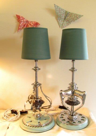 Chainwheel lamps