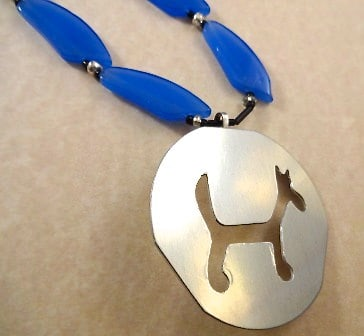 Fido: Necklace from Cake Decorating Items Upcycled Jewelry Ideas