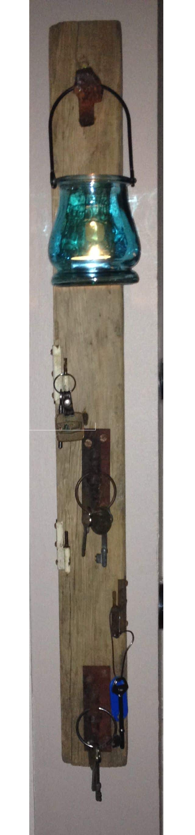 Key Holder From Recycled Wood Accessories Wood & Organic