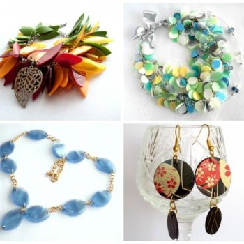 Recycled Jewelry Made Of Plastic Bottles