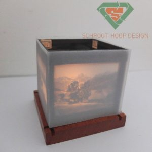 Magic lantern Candle