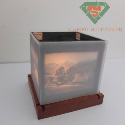 Magic lantern Candle