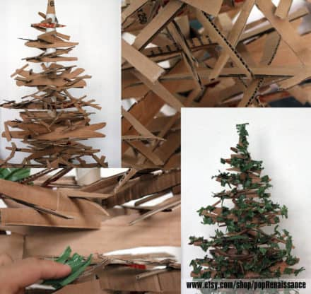 Eco Friendly Christmas Tree From Cardboard