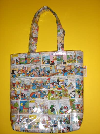 Eco bag made with comics!
