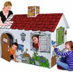Discovery-Kids-Cardboard-Color-and-Play-Play-House-0