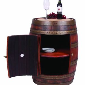 Full-Barrel-Cabinet-on-Casters-Made-from-a-Real-Wine-Barrel-Ocean-Finish-0