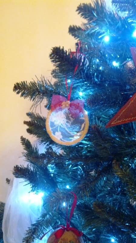 Christmas tree adobos with scrap fabrics (addobbi albero di Natale con avanzi di stoffe) Do-It-Yourself Ideas